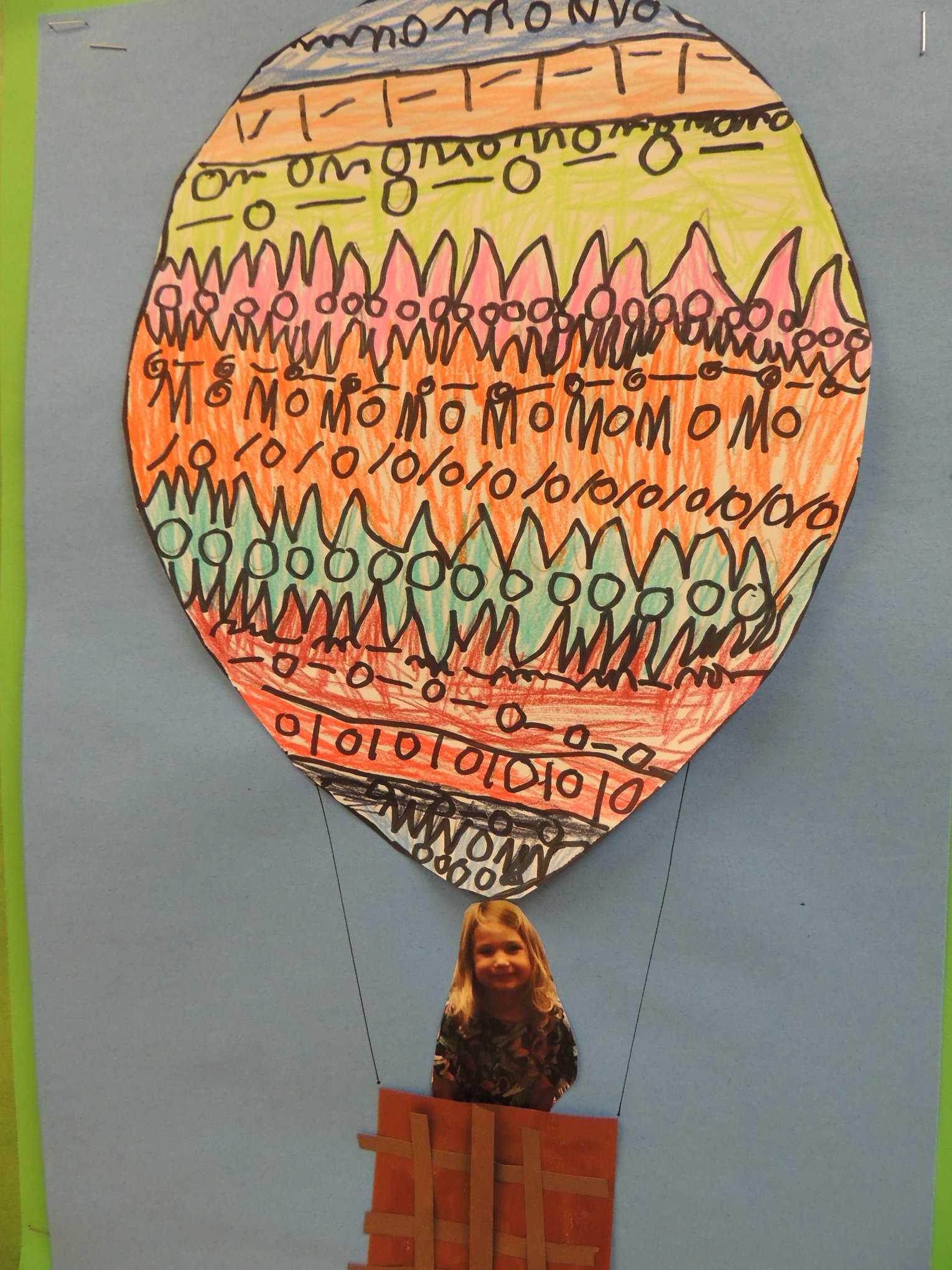 Hot Air Balloon Art