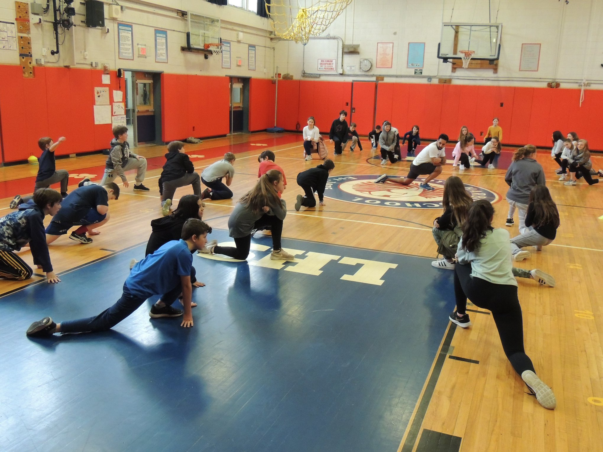 LH Phys. Ed. Classes Train Like an Athlete