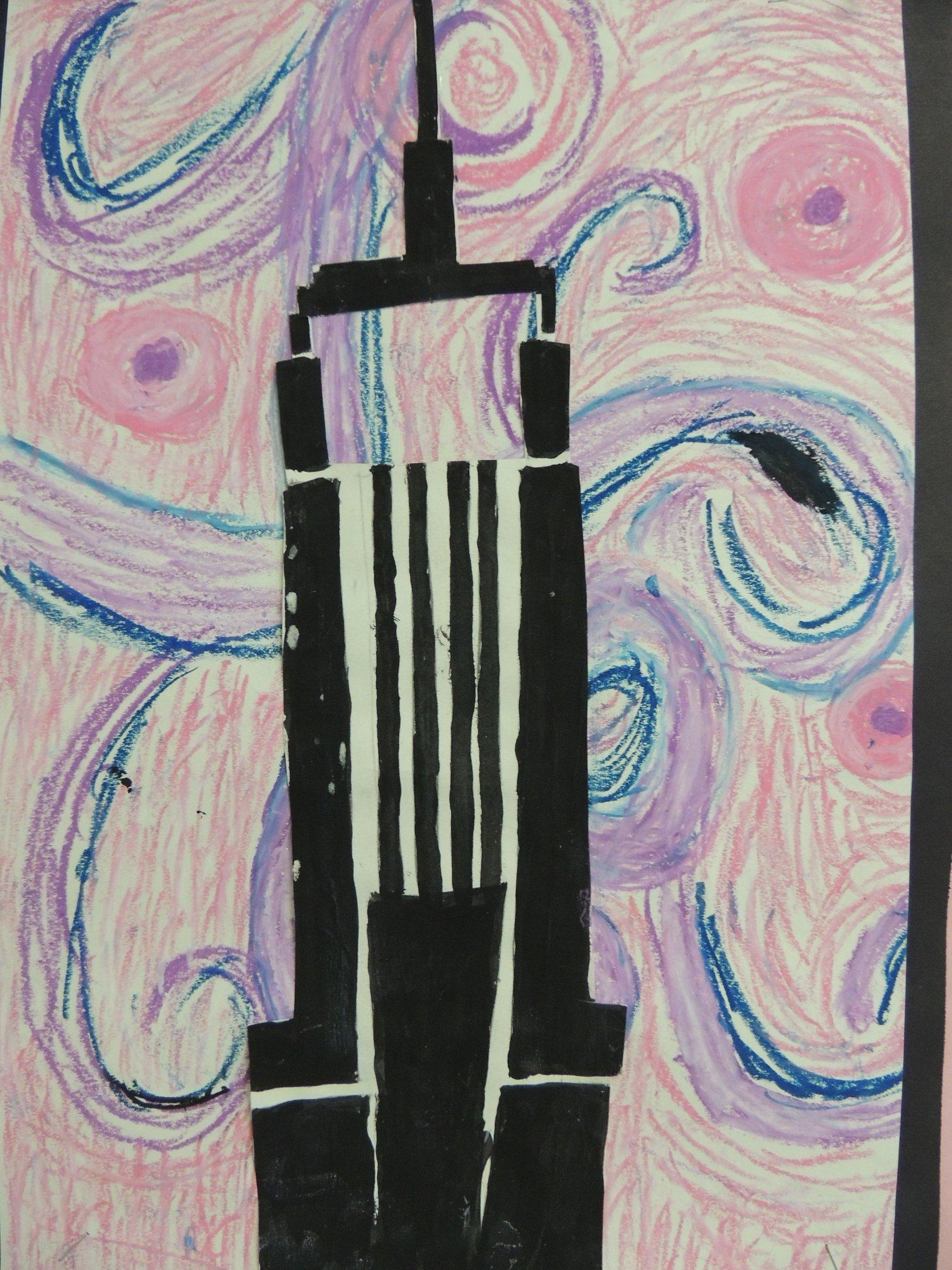 LH Van Gogh Inspired Art
