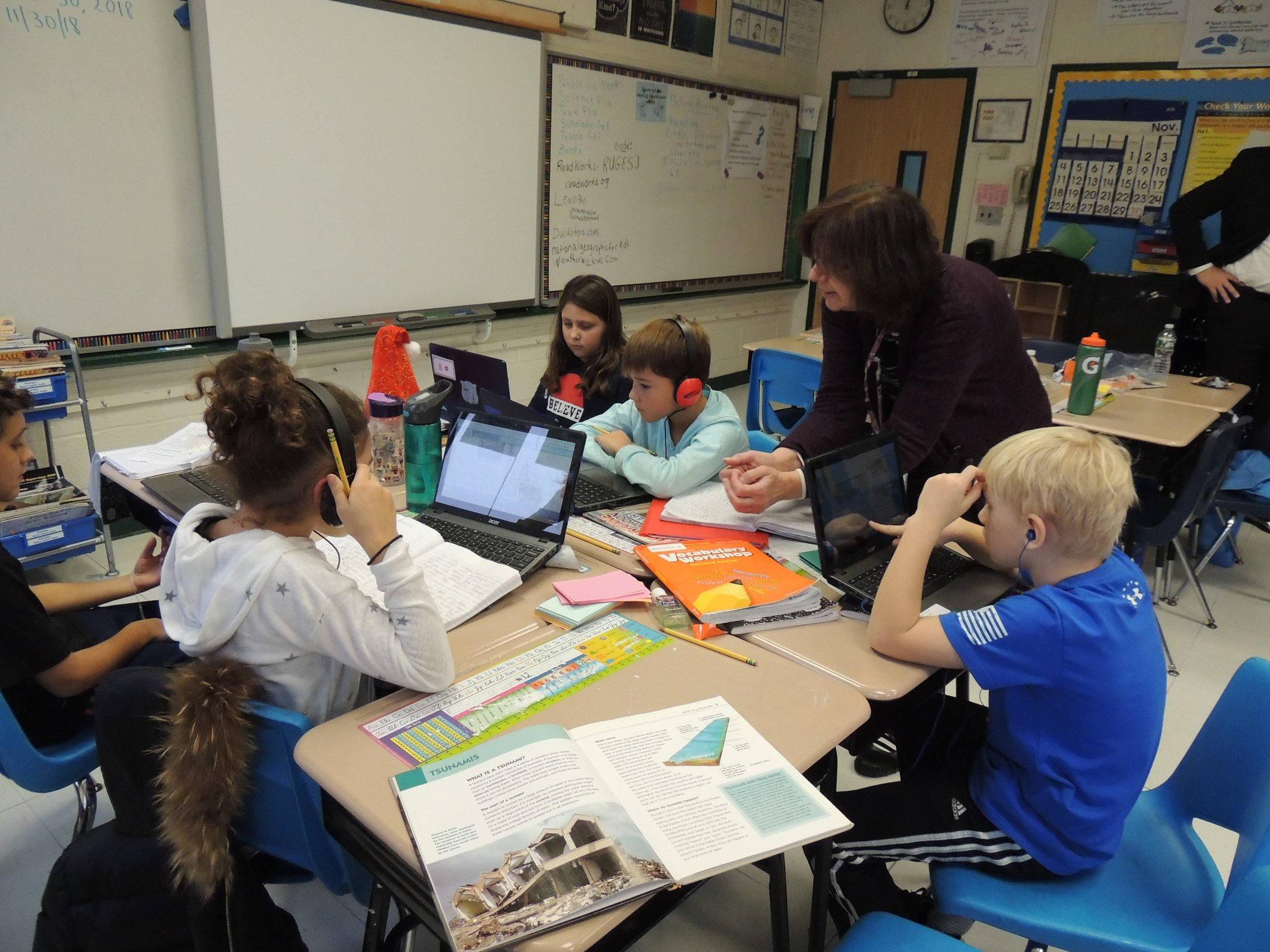 WS 4th Graders Research Storms & Extreme Weather