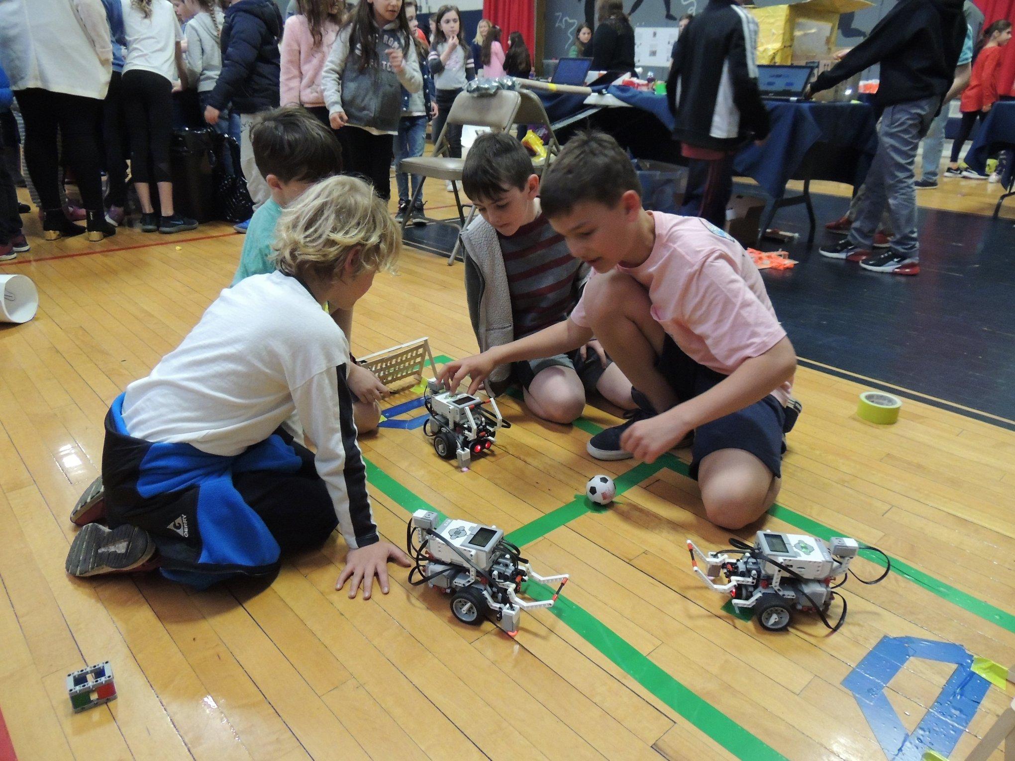 Robotics at WS Steam Fair