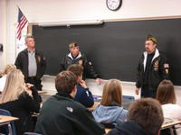 Veterans Visit the Jr-Sr High